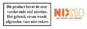 Nicotine + nix18