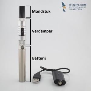 Elektronische sigaret uitleg onderdelen