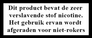 Nicotinesticker
