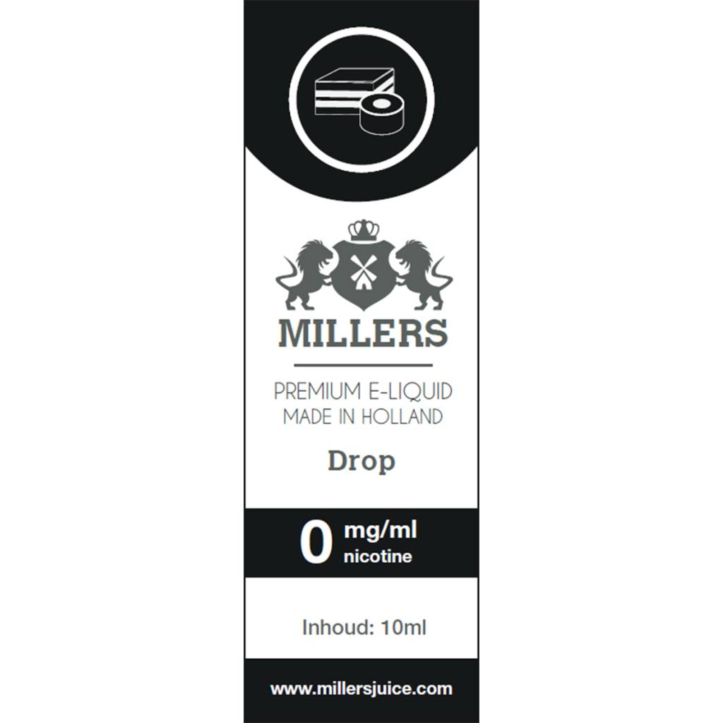 Drop - Millers E-liquid (NL) Silverline