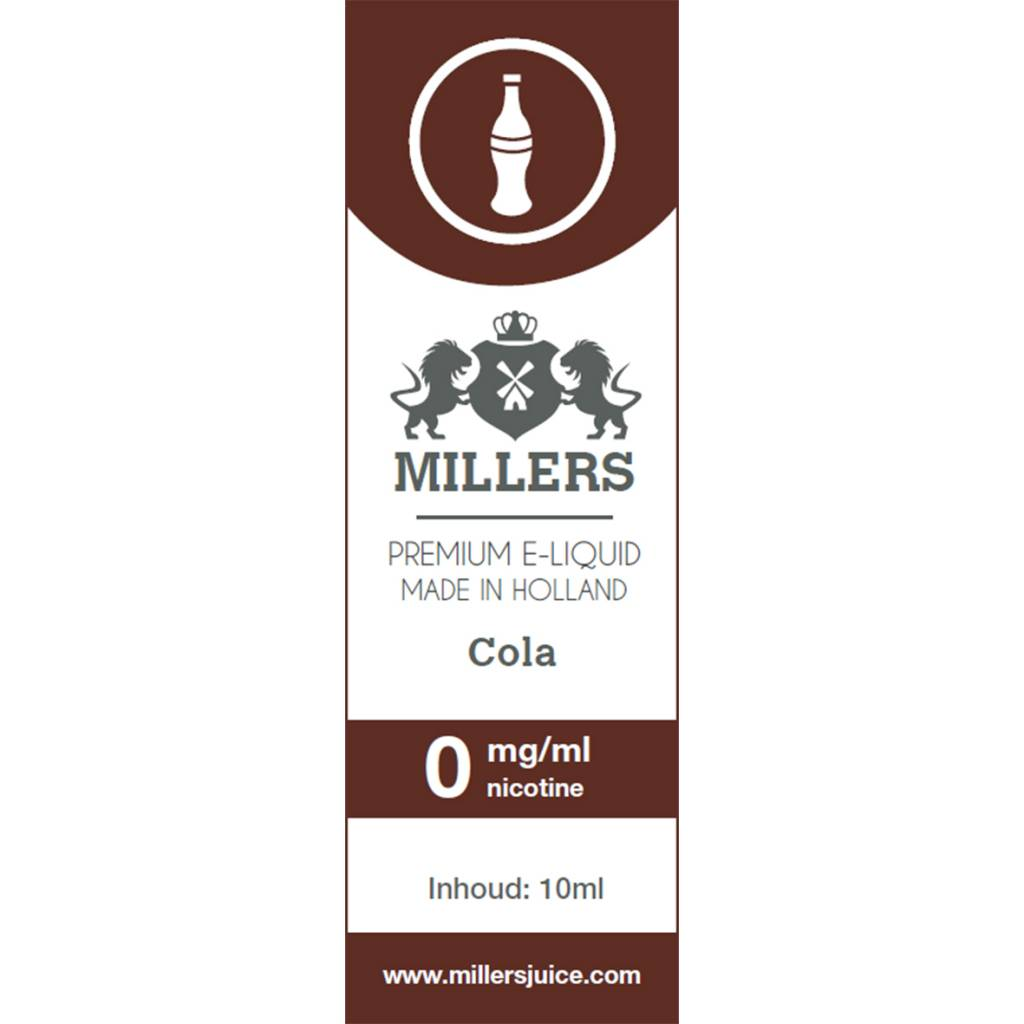 Millers Cola E-liquid Silverline