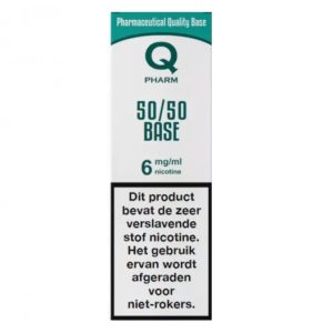 Qpharm 50-50 Base liquid