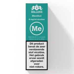 Menthol Millers (NL) Silverline E-liquid