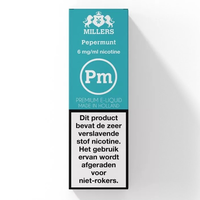Pepermunt Millers (NL) Silverline E-liquid