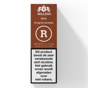 RY4 Millers (NL) Silverline E-liquid