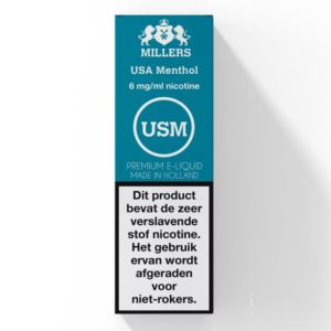 USA Menthol Millers (NL) Silverline E-liquid