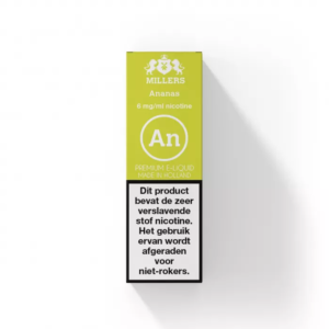 Ananas - Millers E-liquid (NL) Silverline