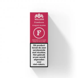 Framboos - Millers E-liquid (NL) Silverline