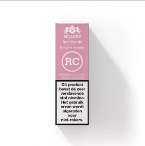 Red Candy Millers Silverline E-liquid