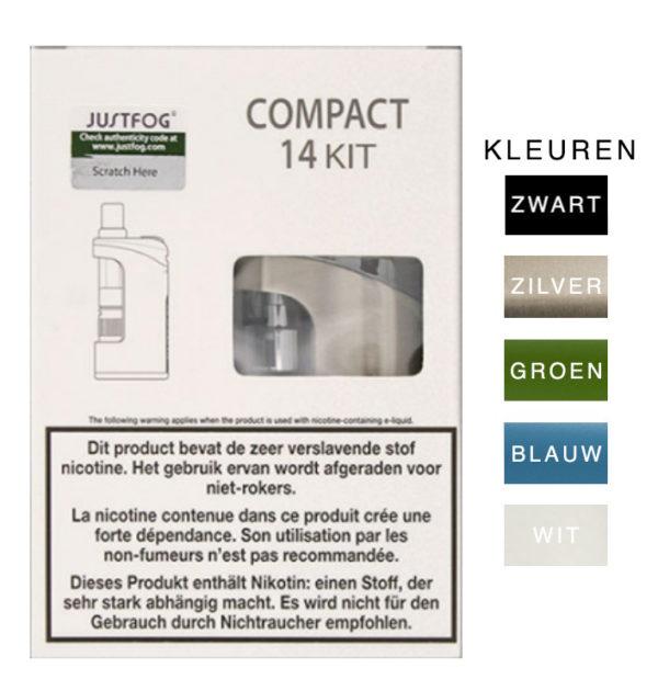 Startset-Compact-1500mAh-batterij-met-Q14-Clearomizer