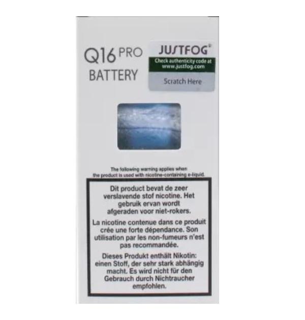 batterij-justfog-q16pro-900mah